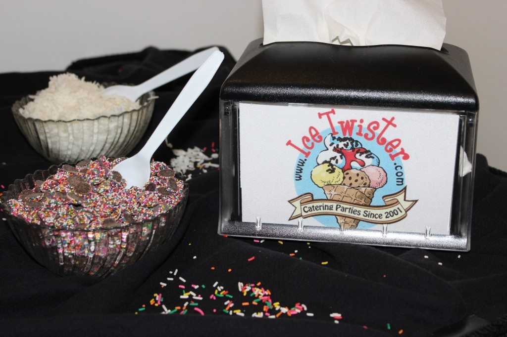 Part of our Toppings Bar! Book your social today to get yours!