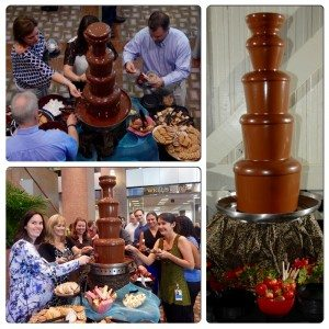 Orlando Chocolate Fountain Event Catering